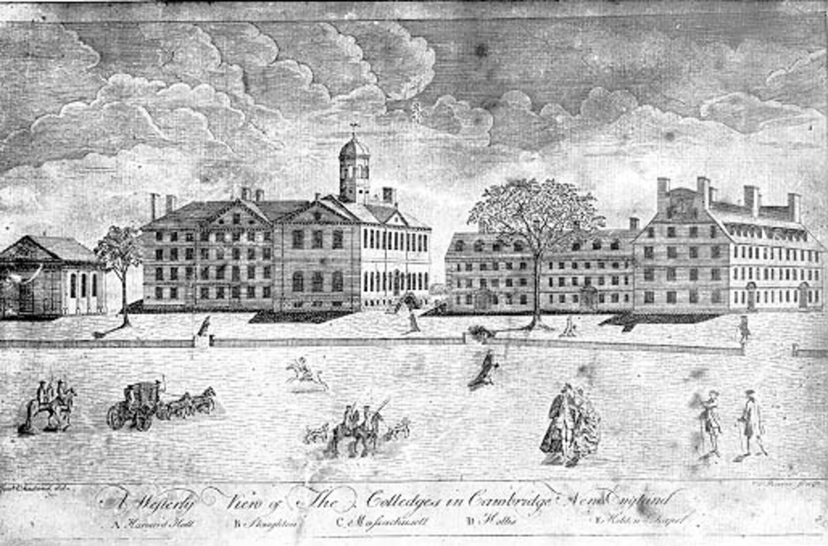 HARVARD UNIVERSITY IN COLONIAL TIMES