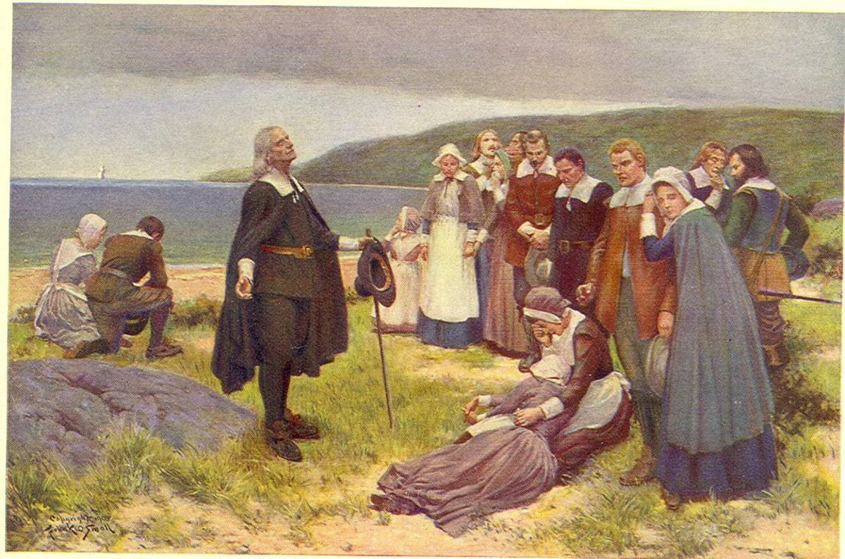 """the early pilgrims in north america in the 1620s Columbus """"discovered"""" america in  columbus """"discovered"""" america in 1482 for spain, but the pilgrims didn't  british settlement in north america didn't."""