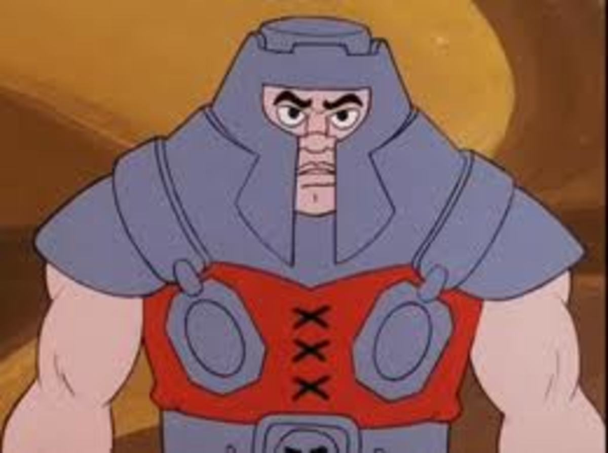 Ram Man is a character who is known for a spring in his step, and a helmet on his head