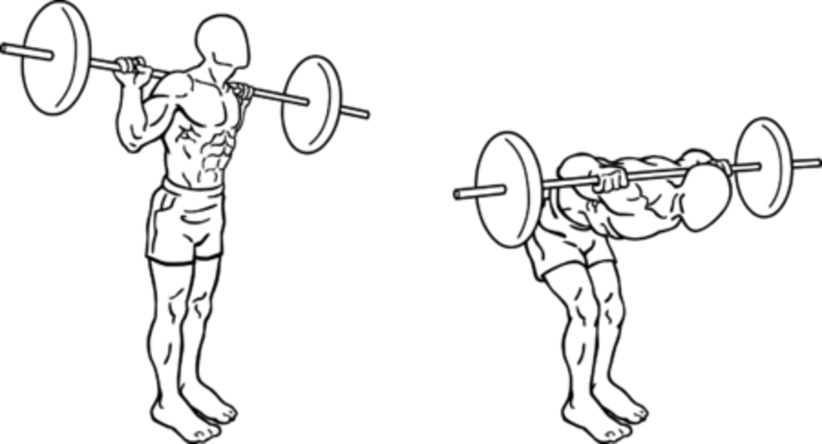 Start off with a little or no weight until you are proficient at this exercise.
