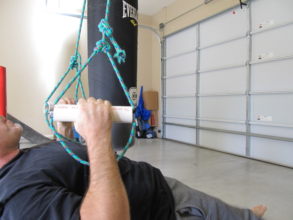 Make sure your arms can extend fully at the bottom position.