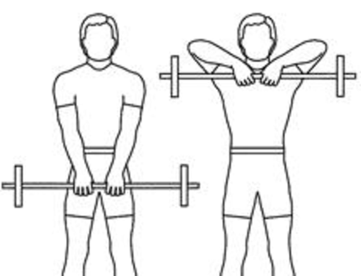 Yes it's a shoulder exercise, but it also hits the traps.