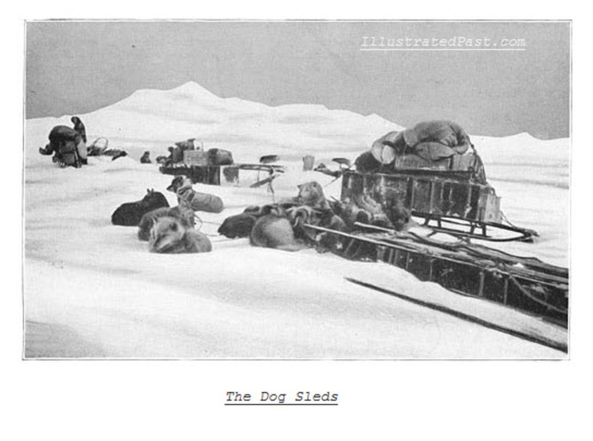 Antarctic Transportation in 1911