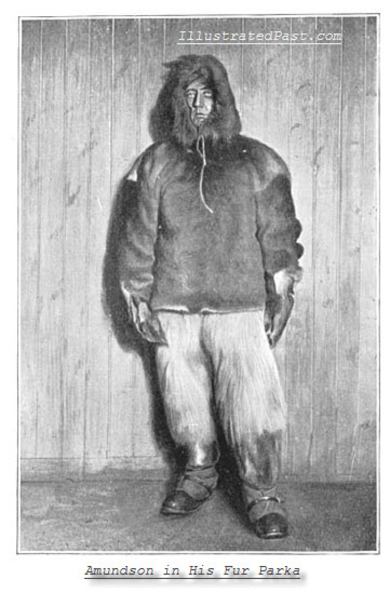 Amundsen in his Fur Parka