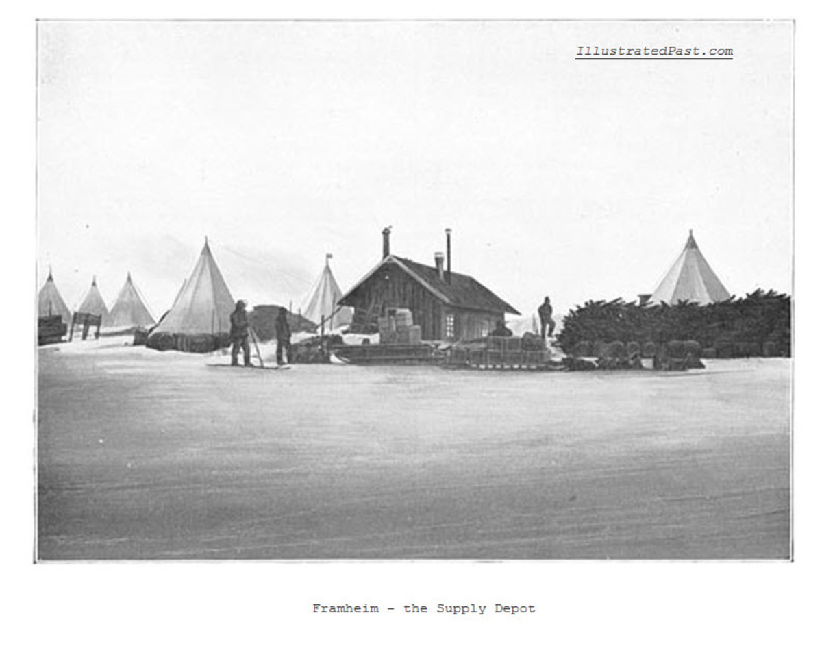 Framheim - The Expedition's Headquarters on the Coast