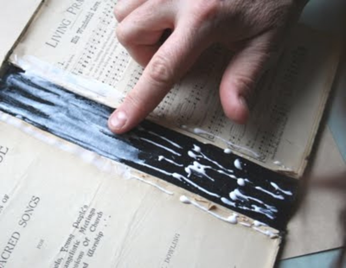 How to Fix the Binding on a Hardcover Book