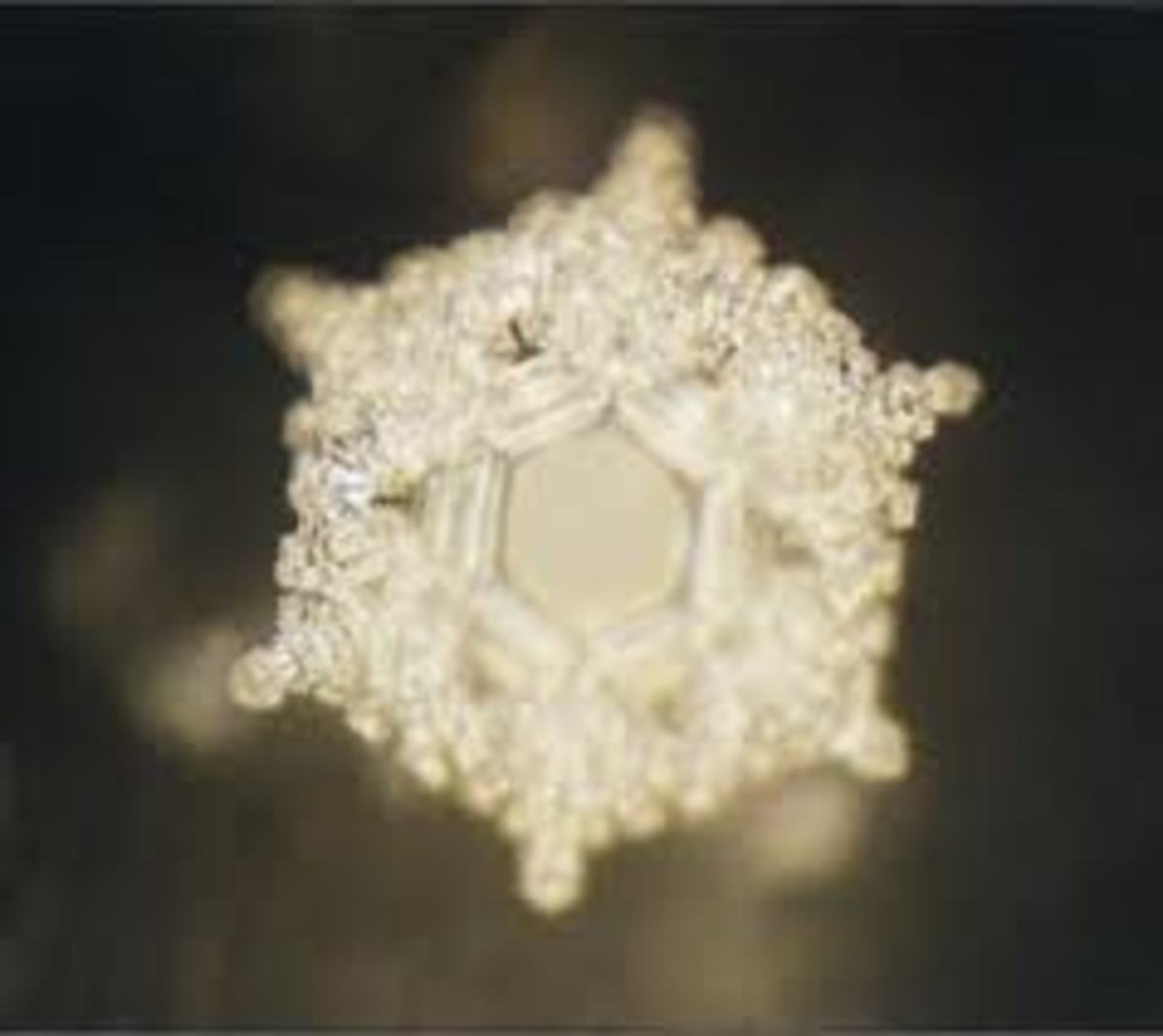 Thoughts of Love and Gratitude radiated at water results in the most beautiful and complex of all water crystals.