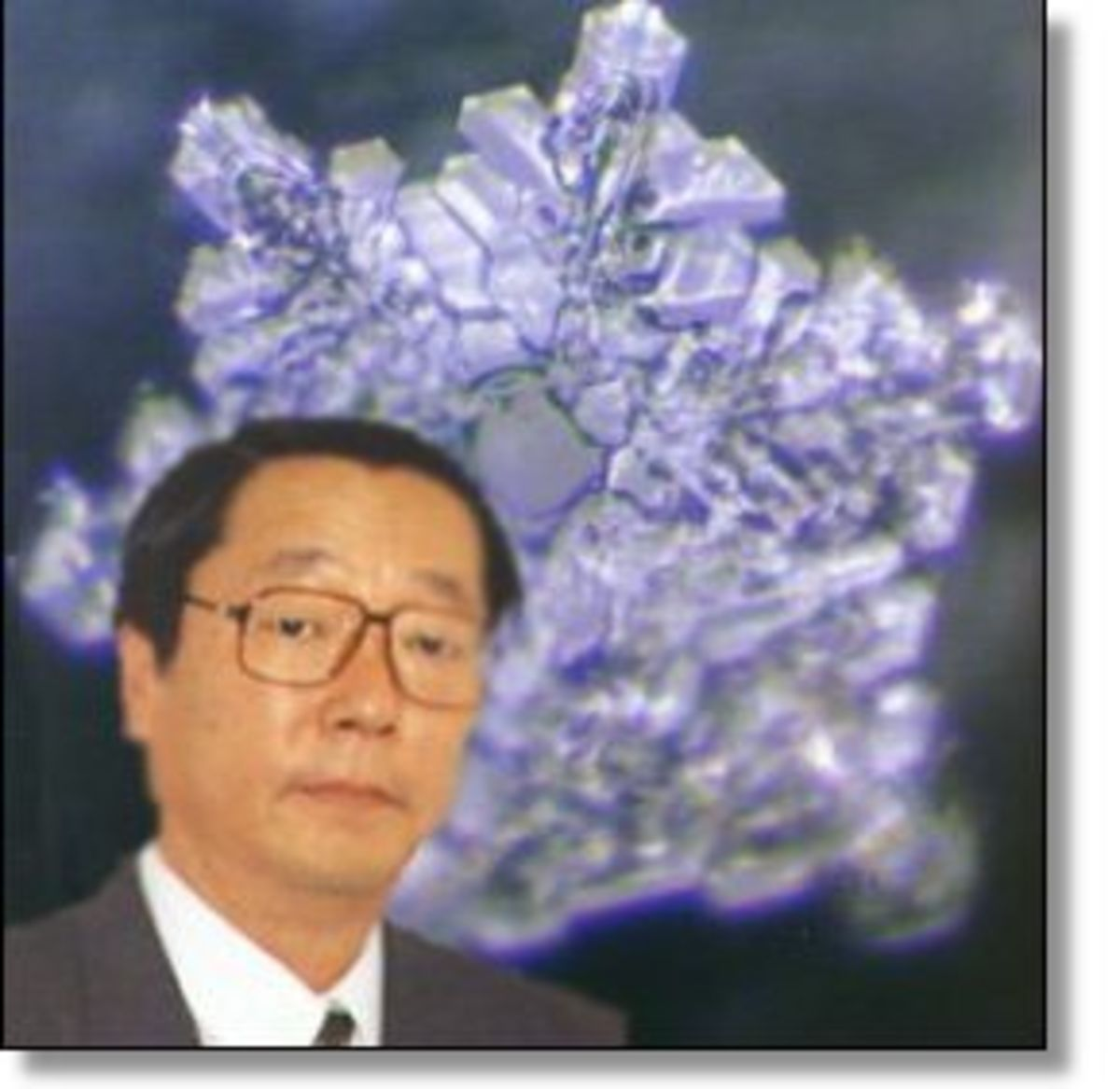 Doctor Masuro Emoto of Japan.   A world renowned scientist.  He studied water for decades.