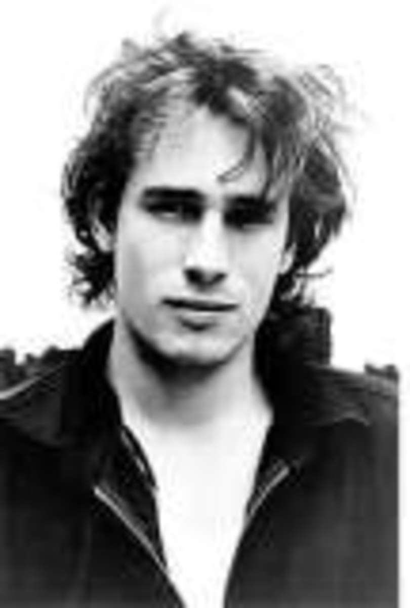 Jeff Buckley - his bright light and talent shone for too short a time.