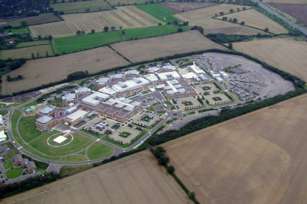 Norfolk and Norwich University Hospital, England