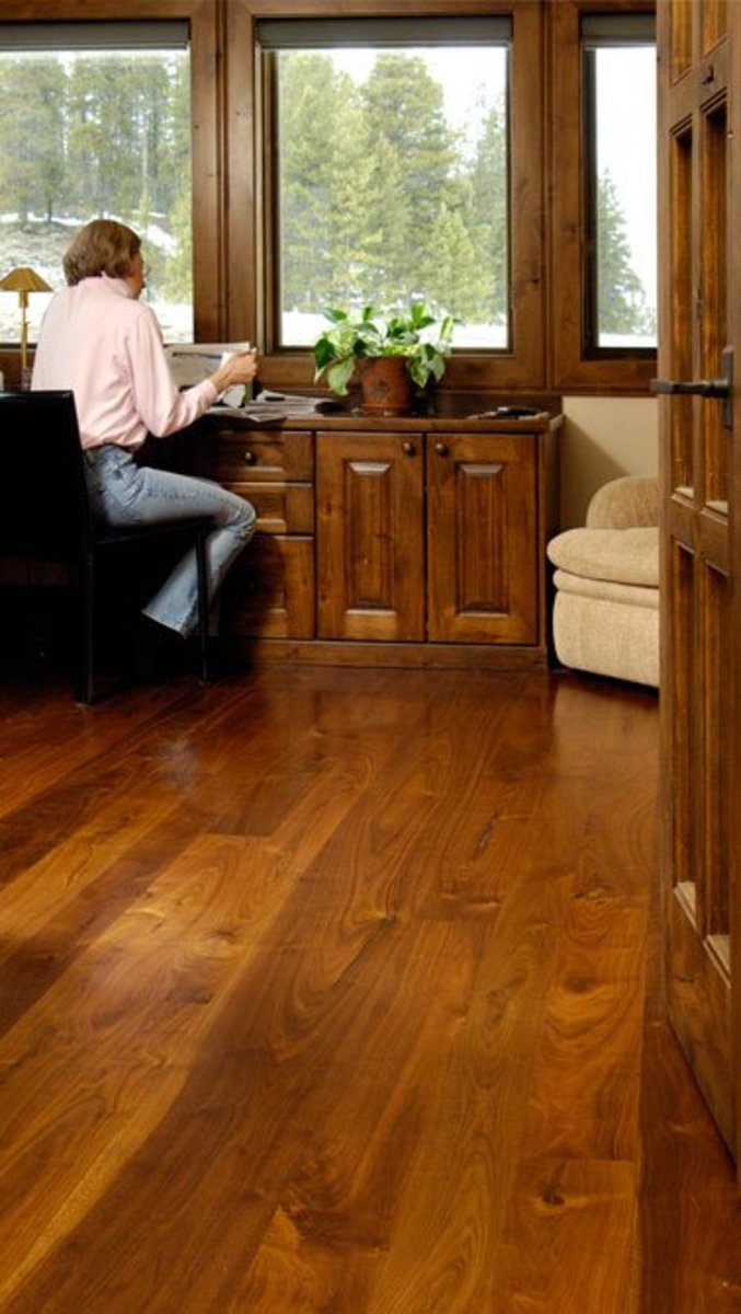 Walnut Office flooring