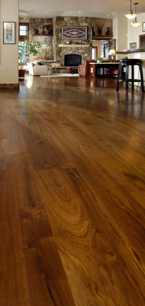 Walnut Dining Room flooring