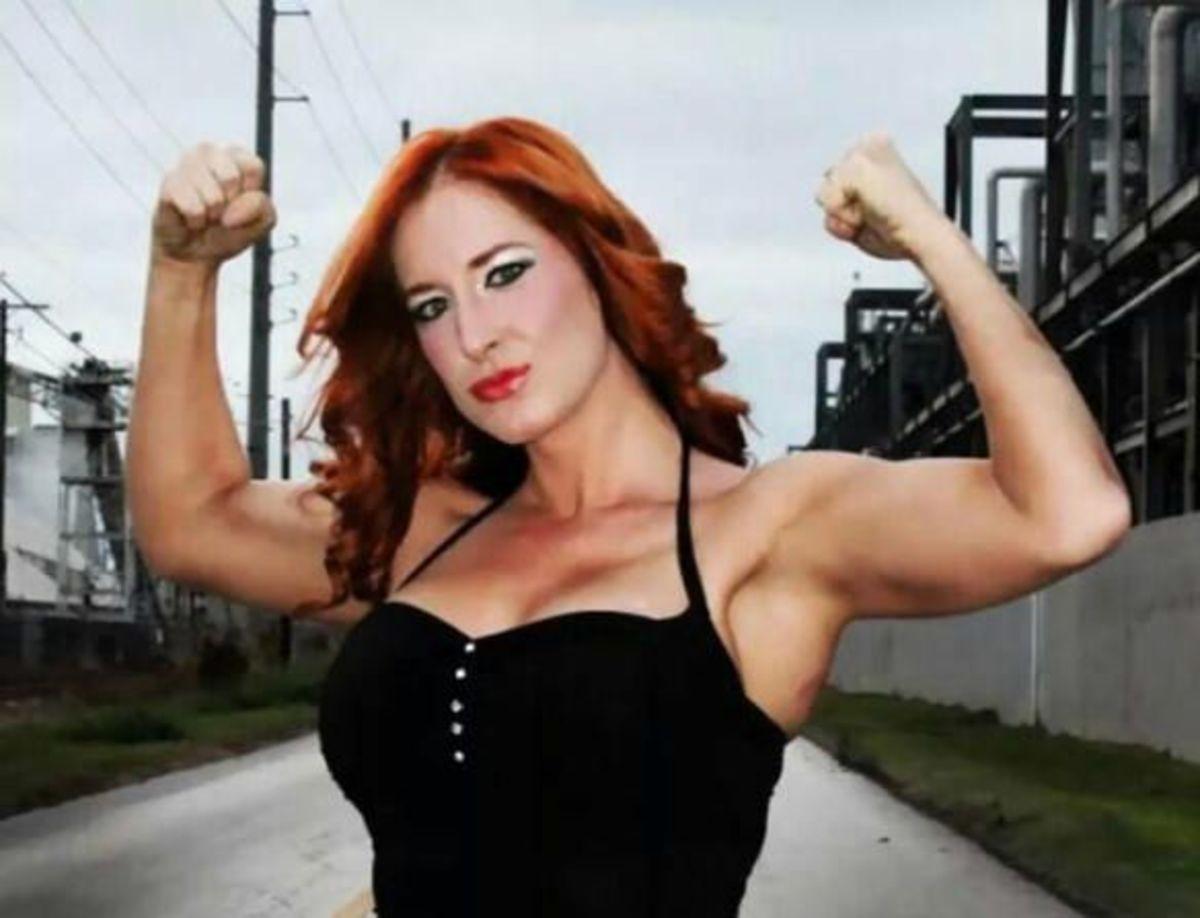 Indy Wrestler Jessie Belle