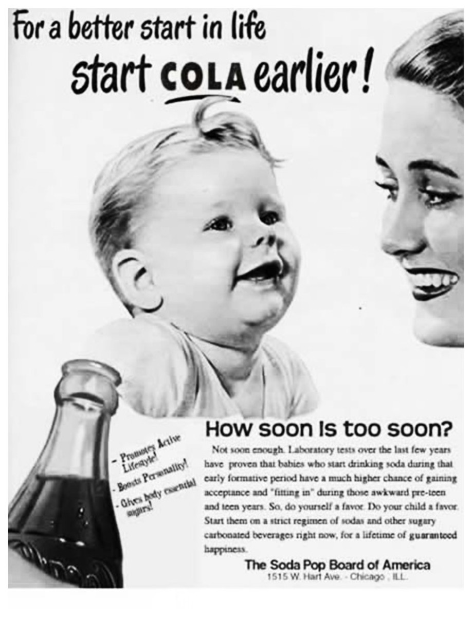 Forget breast milk, Mom. Go Coke!