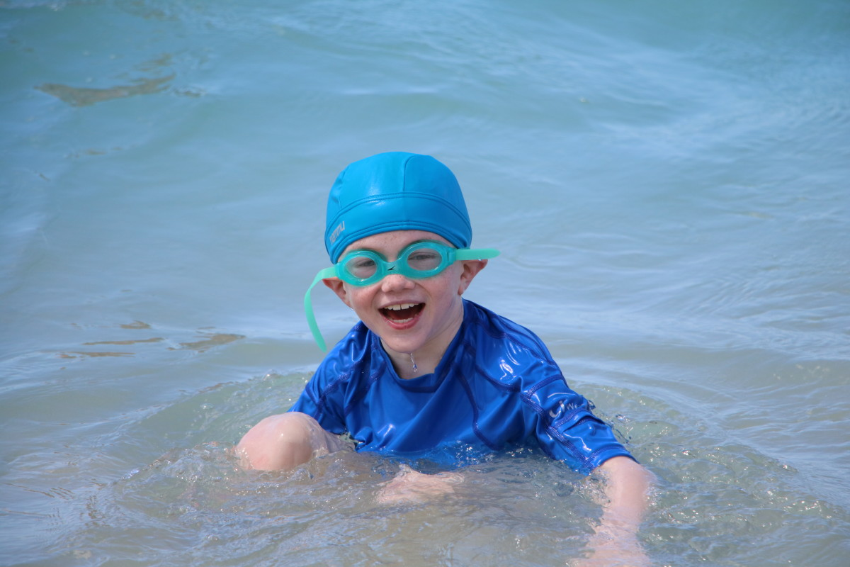 Our son has a waterproof cochlear implant processor (the Neptune by Advanced Bionics). All three cochlear implant companies offer waterproofing solutions for their processors.