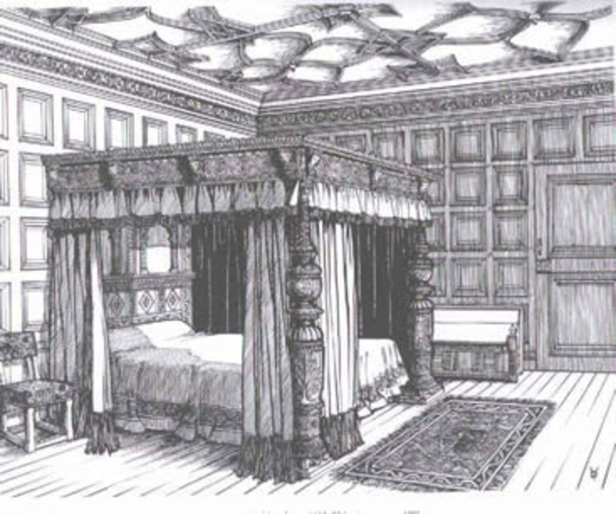 My Four Poster Bed!