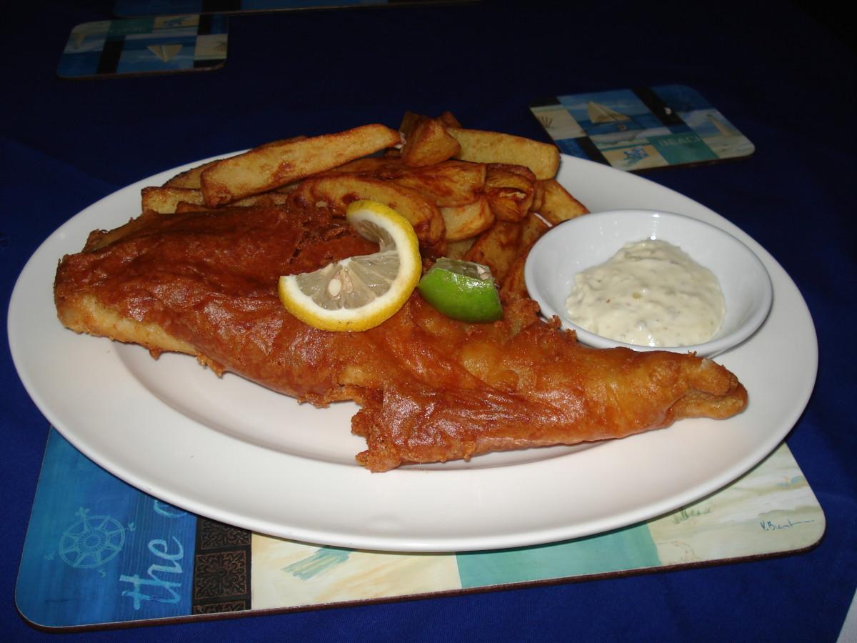 Pattaya Fish and Chip Shop Review