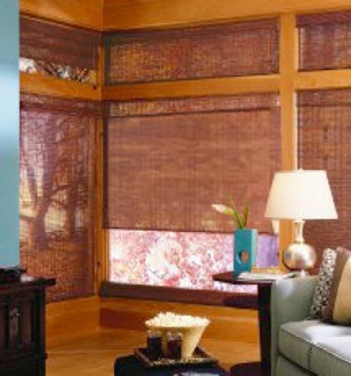 Bamboo Shades Window Shades