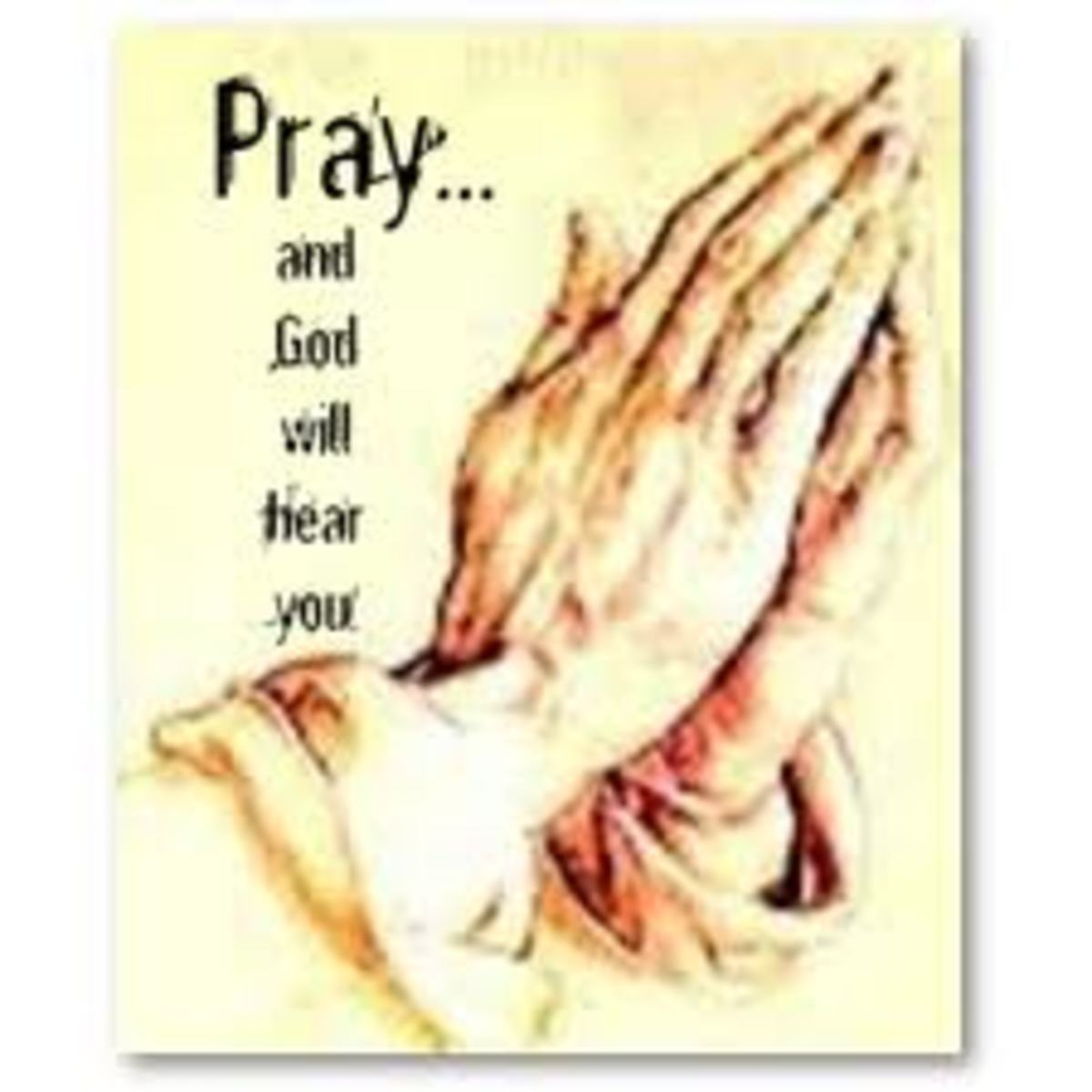 Have you tried Praying?