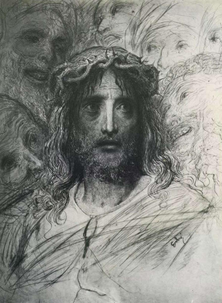 """""""JESUS"""" BY GUSTAVE DORE"""