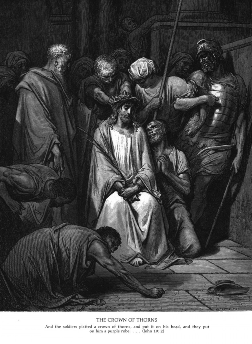 """THE CROWN OF THORNS"" BY GUSTAVE DORE"