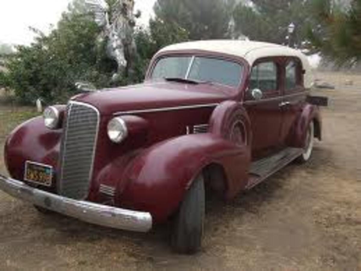 Capone's Cadillac town car