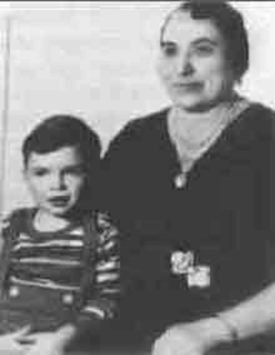 Little Al and his mother, Teresina