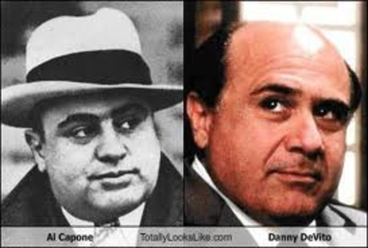 Does Danny DeVito resemble Al Capone?
