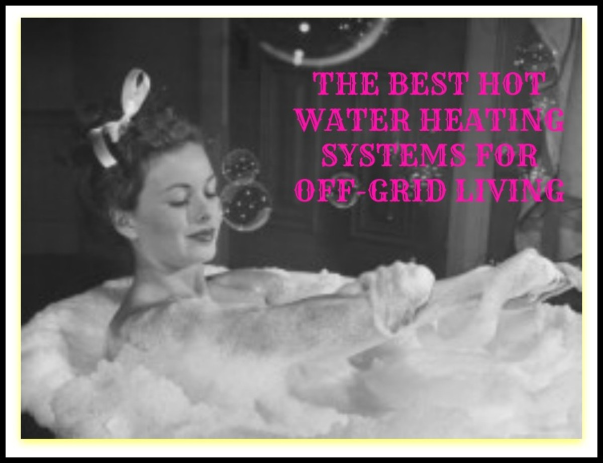 The Best Hot Water Heating Systems for Off grid Living! #666565
