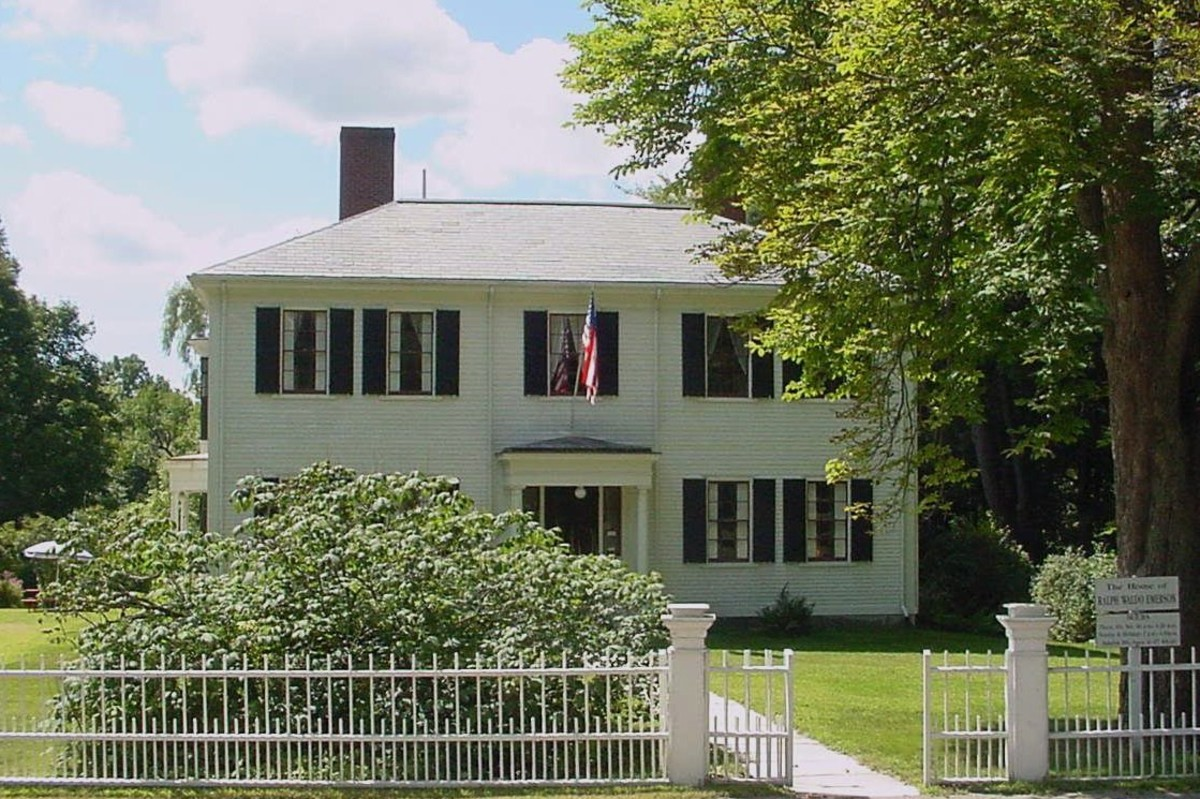Ralph Waldo Emerson House in Concord, Massachusetts