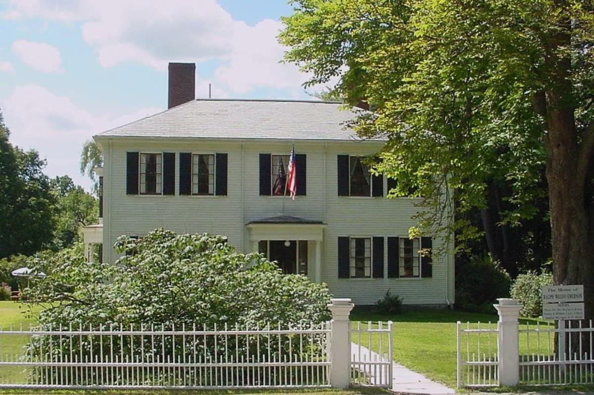 Ralph Waldo Emerson House in Concord, Massachusetts