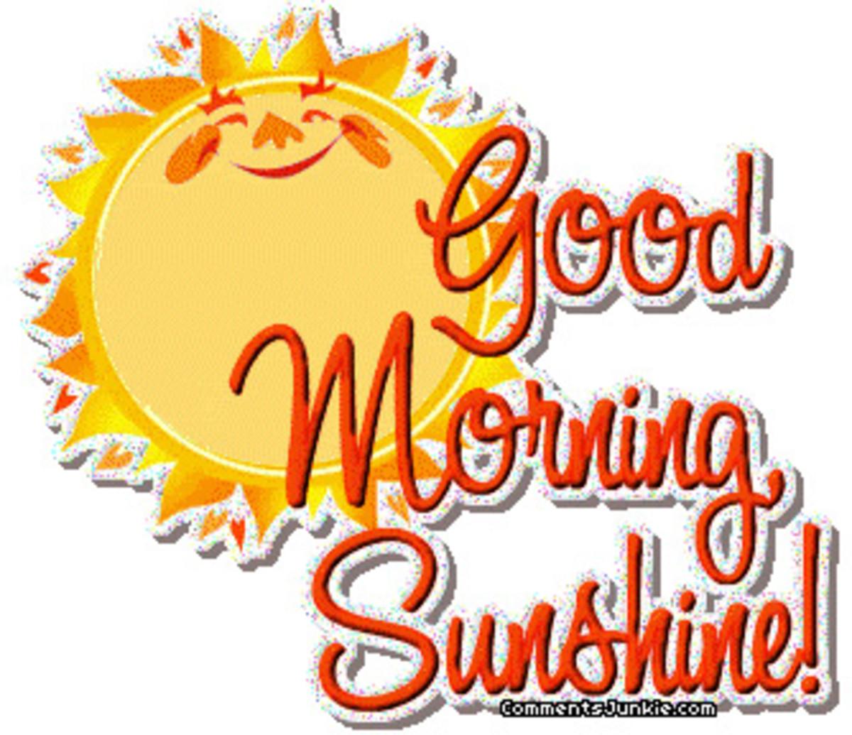 sunshine-good-morning