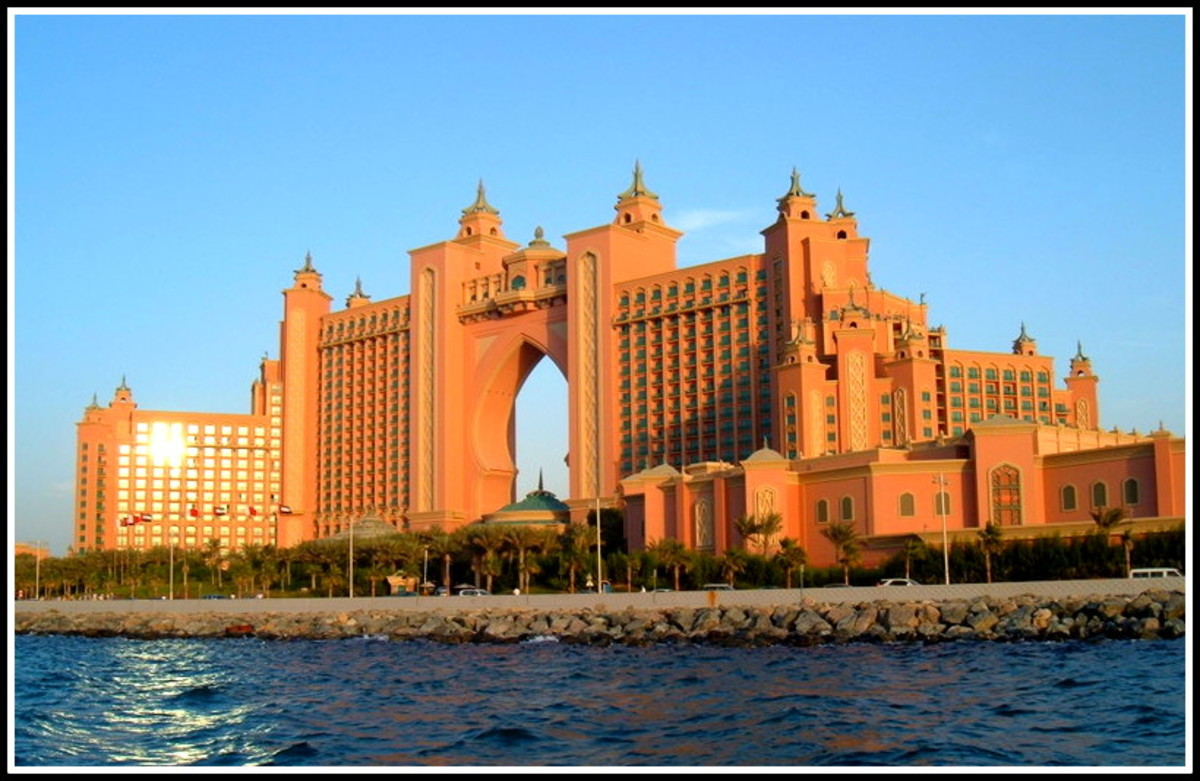 If you are staying at a hotel like the iconic Atlantis, then the rules are slightly different while you are in the hotel.