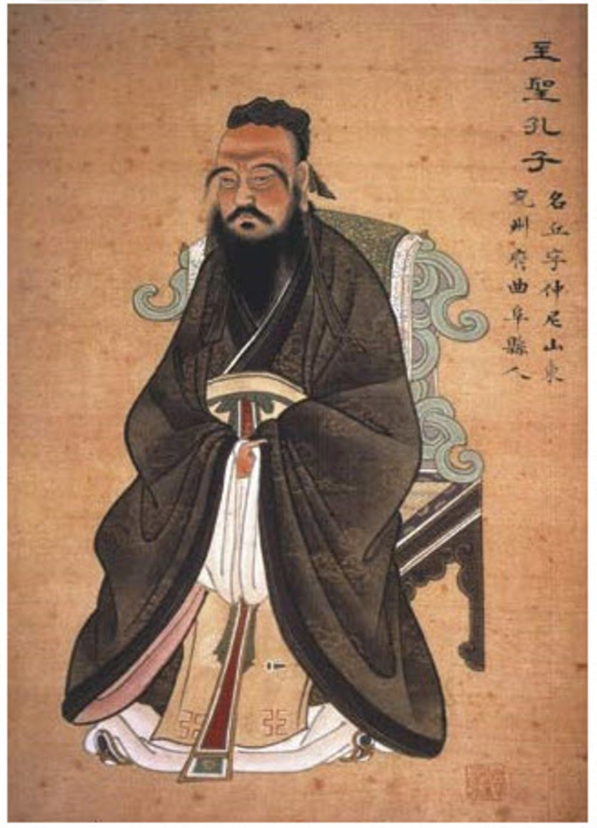 Confucius - A Moral Philosopher Who Became a God