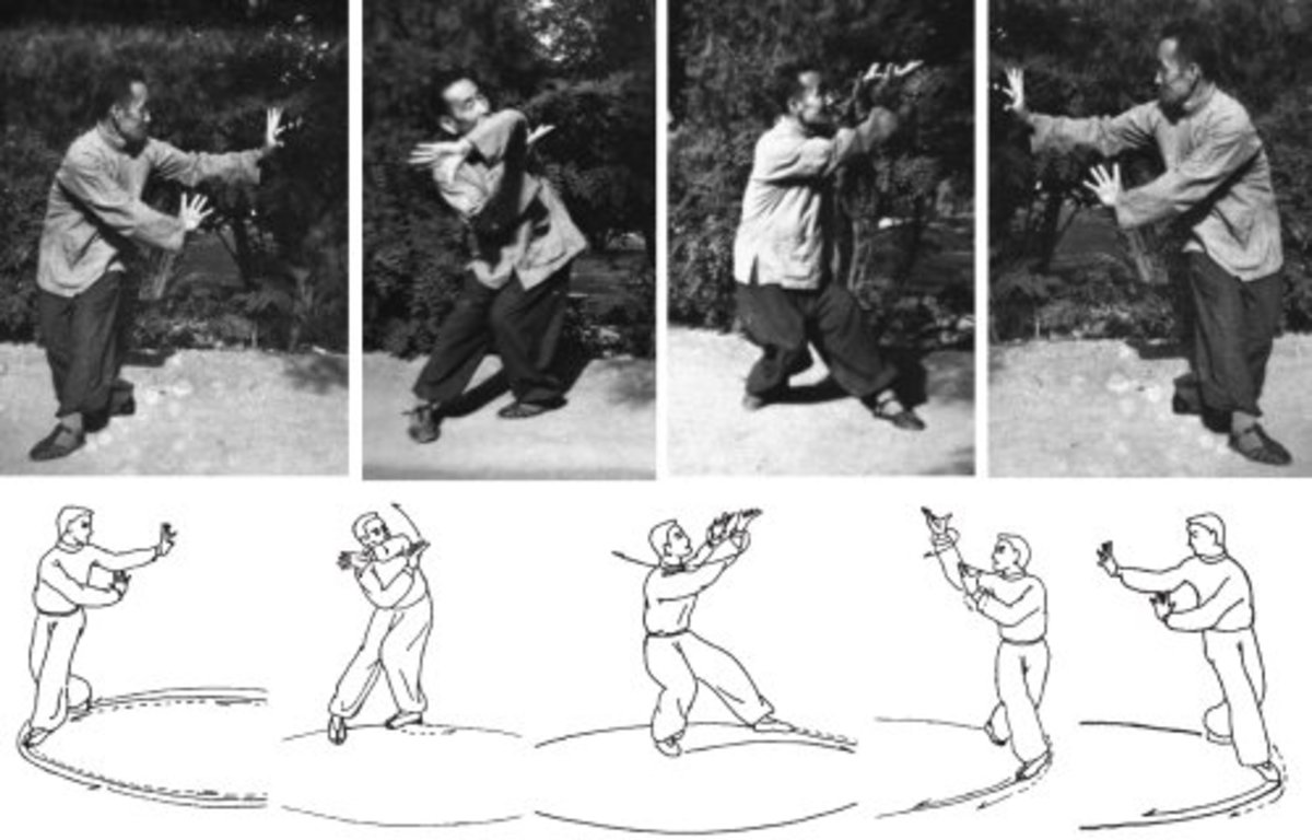 Jin training in Baguazhang