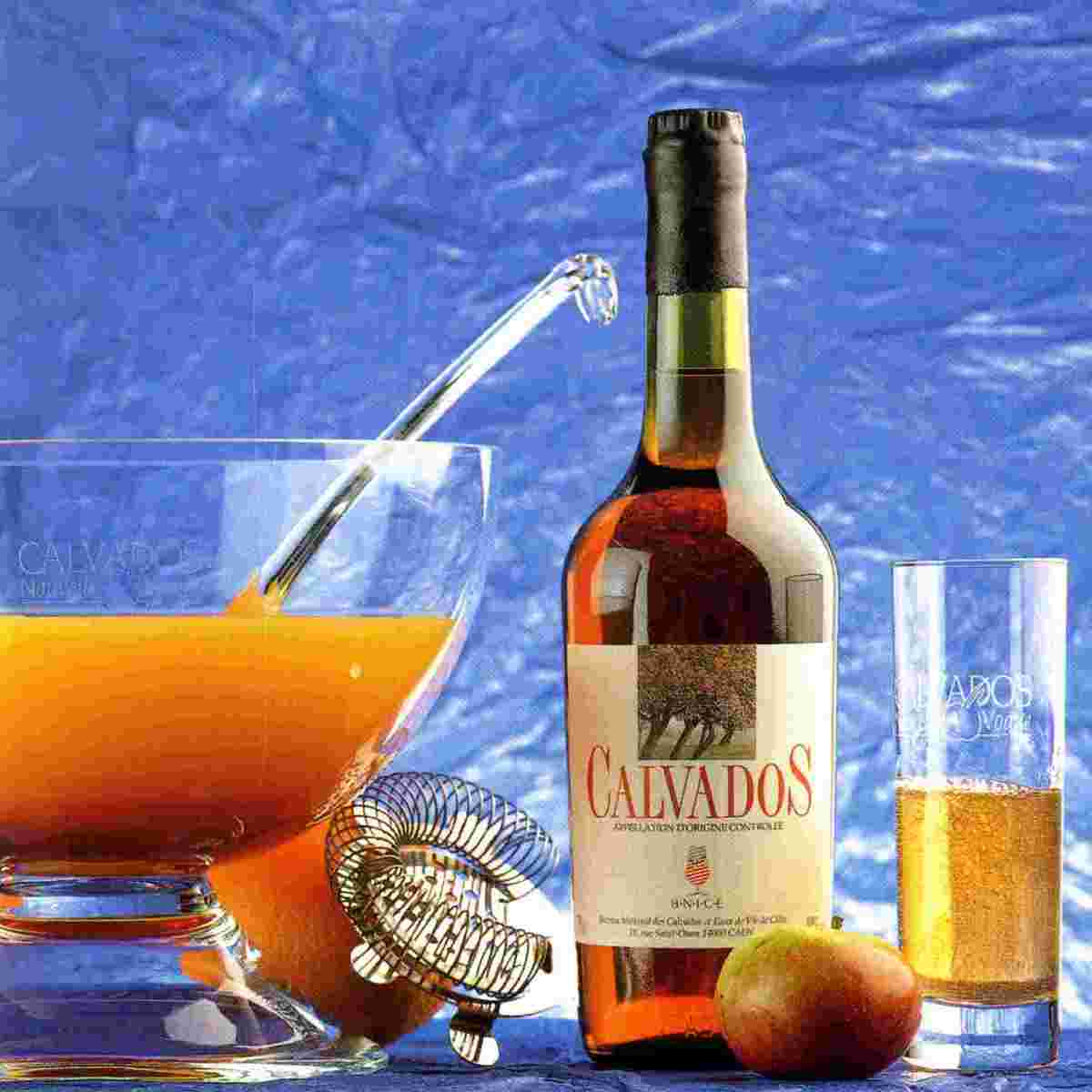 Calvados, a Brandy from Normandy, France
