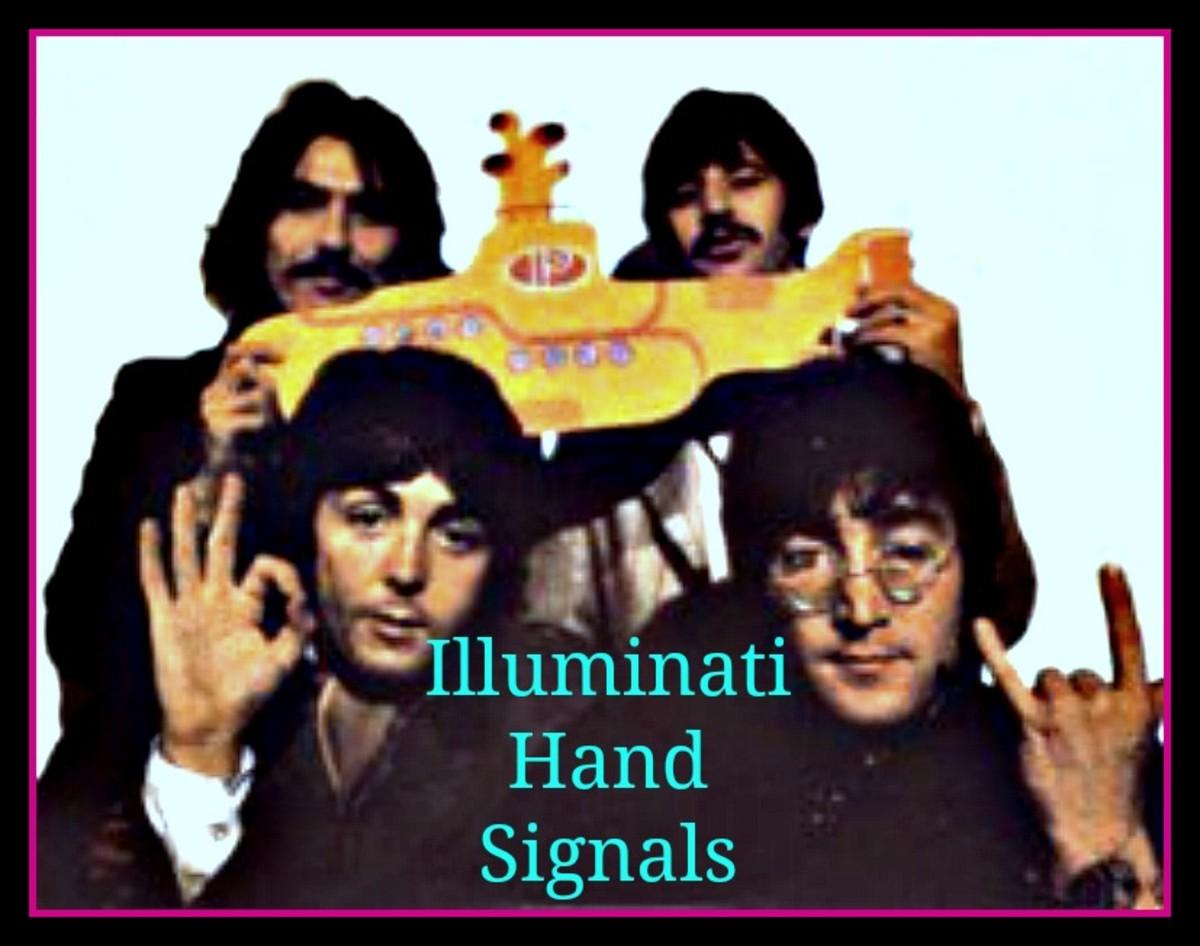 Illuminati Hand Signals