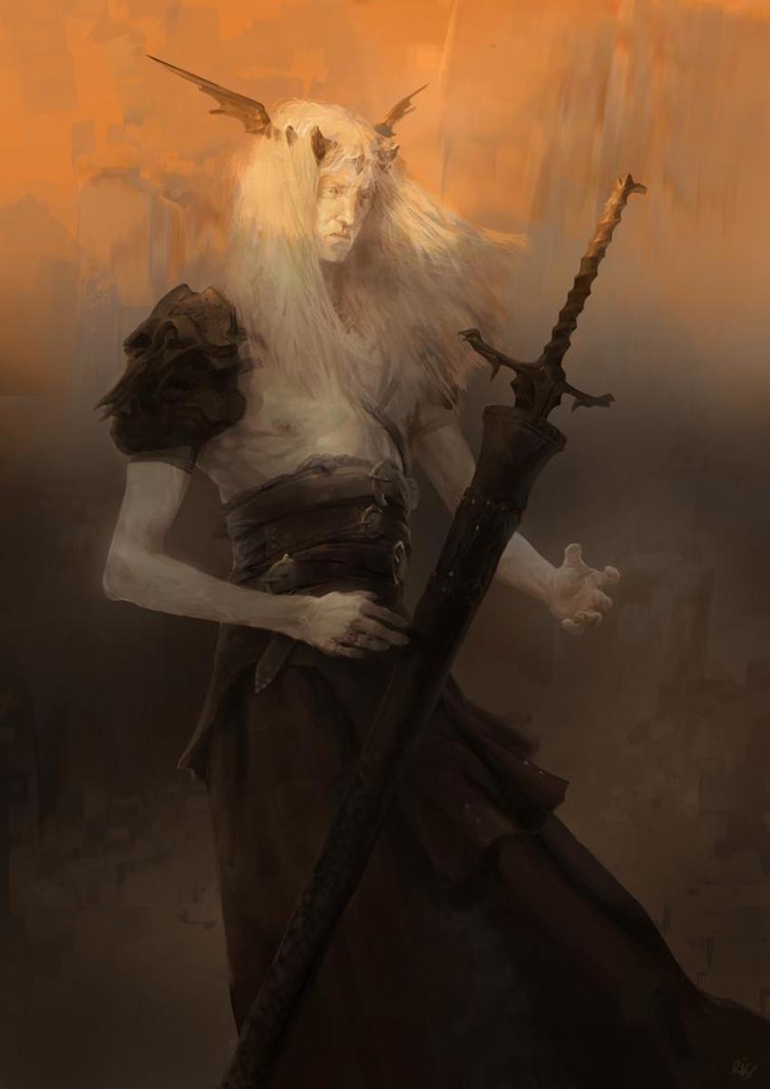 Elric of Melnibone by Rukkits on DeviantArt.