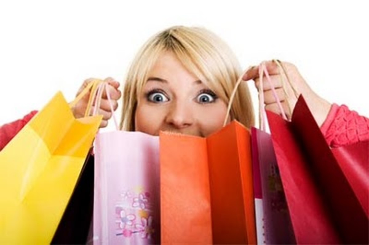 Shopping gives only a temporary high