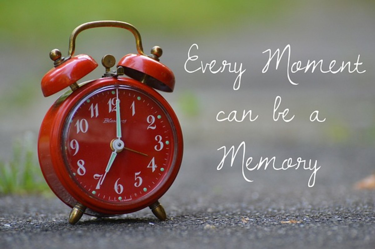 Every moment can be a memory.