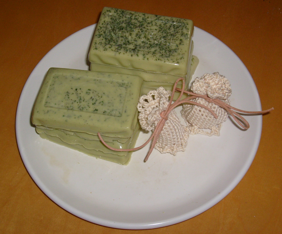 Making your own soap is one way of knowing exactly what ingredients are used.