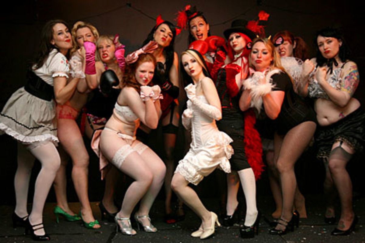 Be Bold and Brash!  Join a Burlesque Group