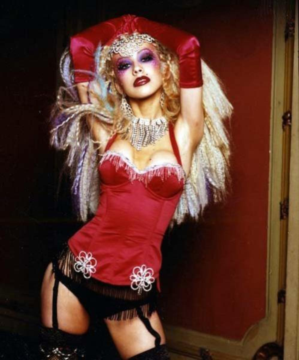 Christina Aguilera and the Spirit of  Burlesque!