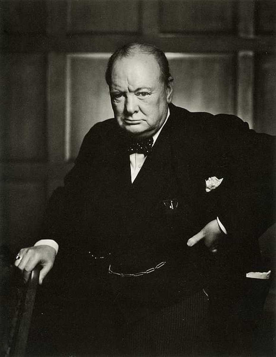 Winston Churchill 'release the dogs of war.'