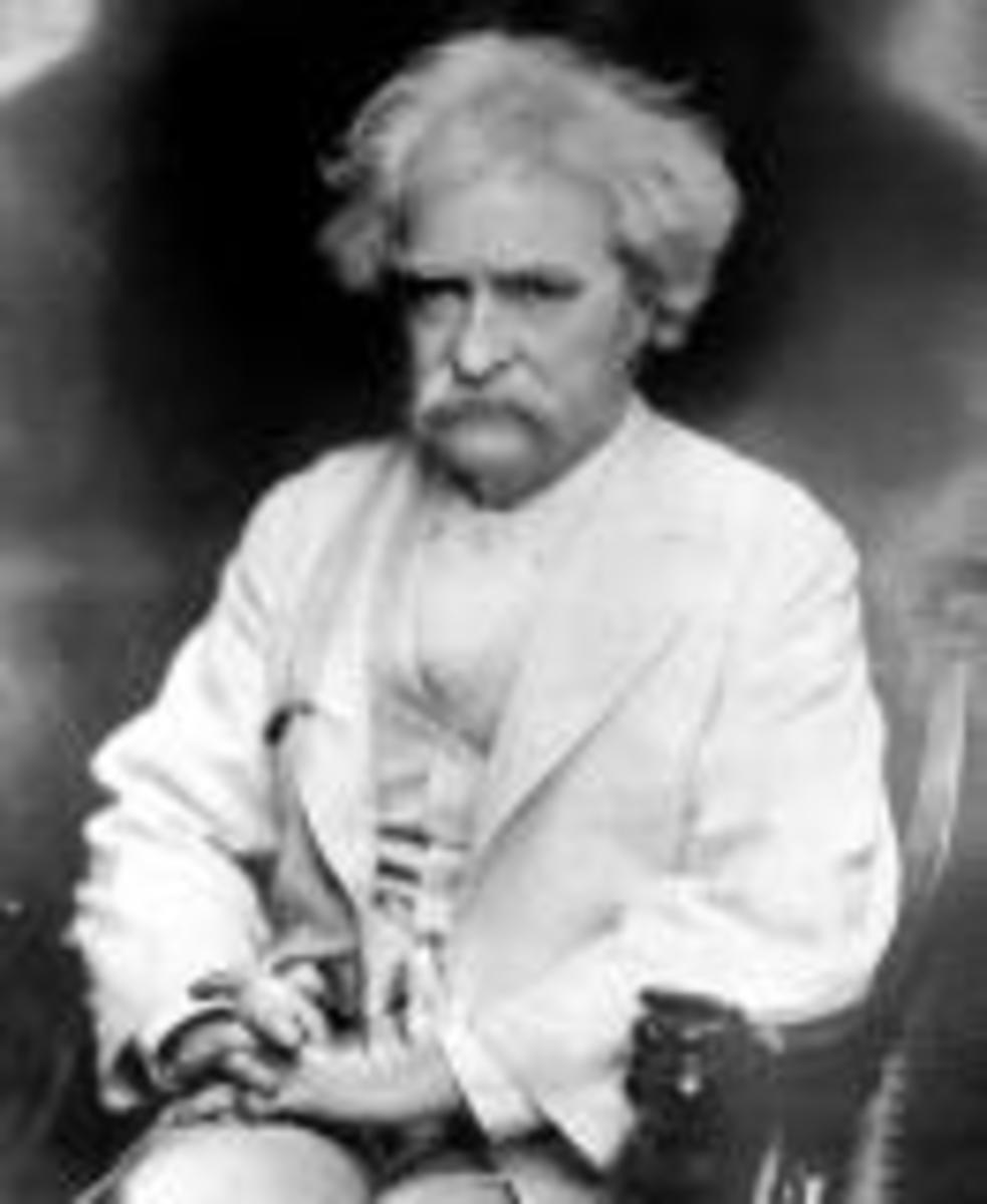 Mark Twain very typical of people born in the year of the goat/sheep