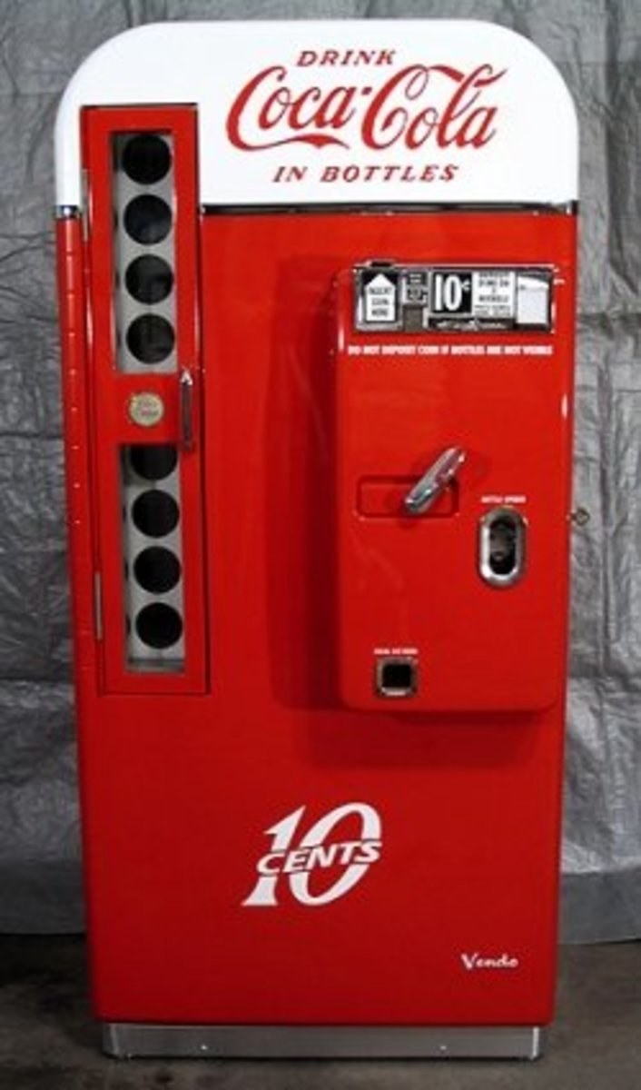 How To Find Recent Sale Prices Of Coca Cola Collectible Vending Machines And Coolers
