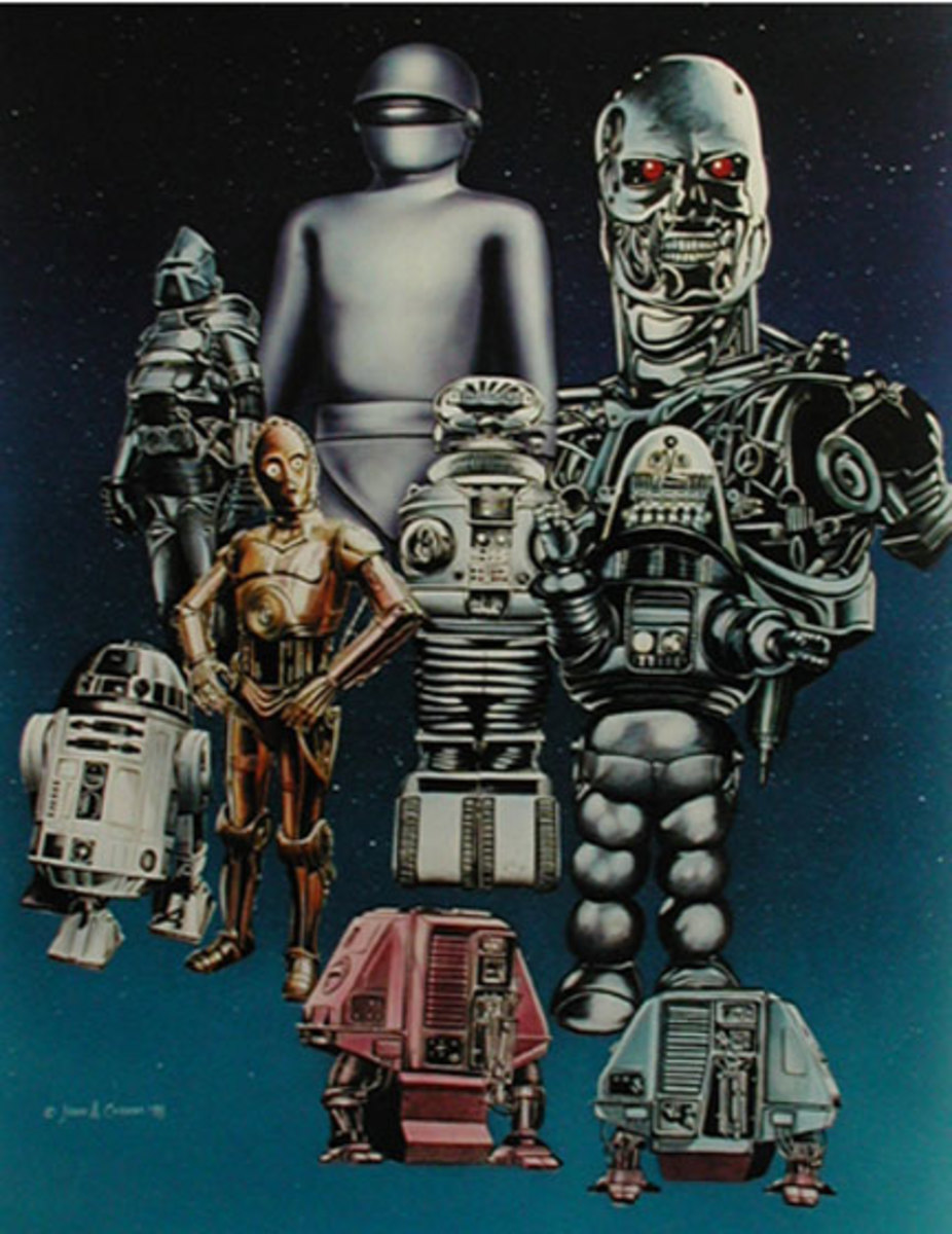 Sarcasticool's Lists: My Top 10 Fictional Robots (TV & Film)