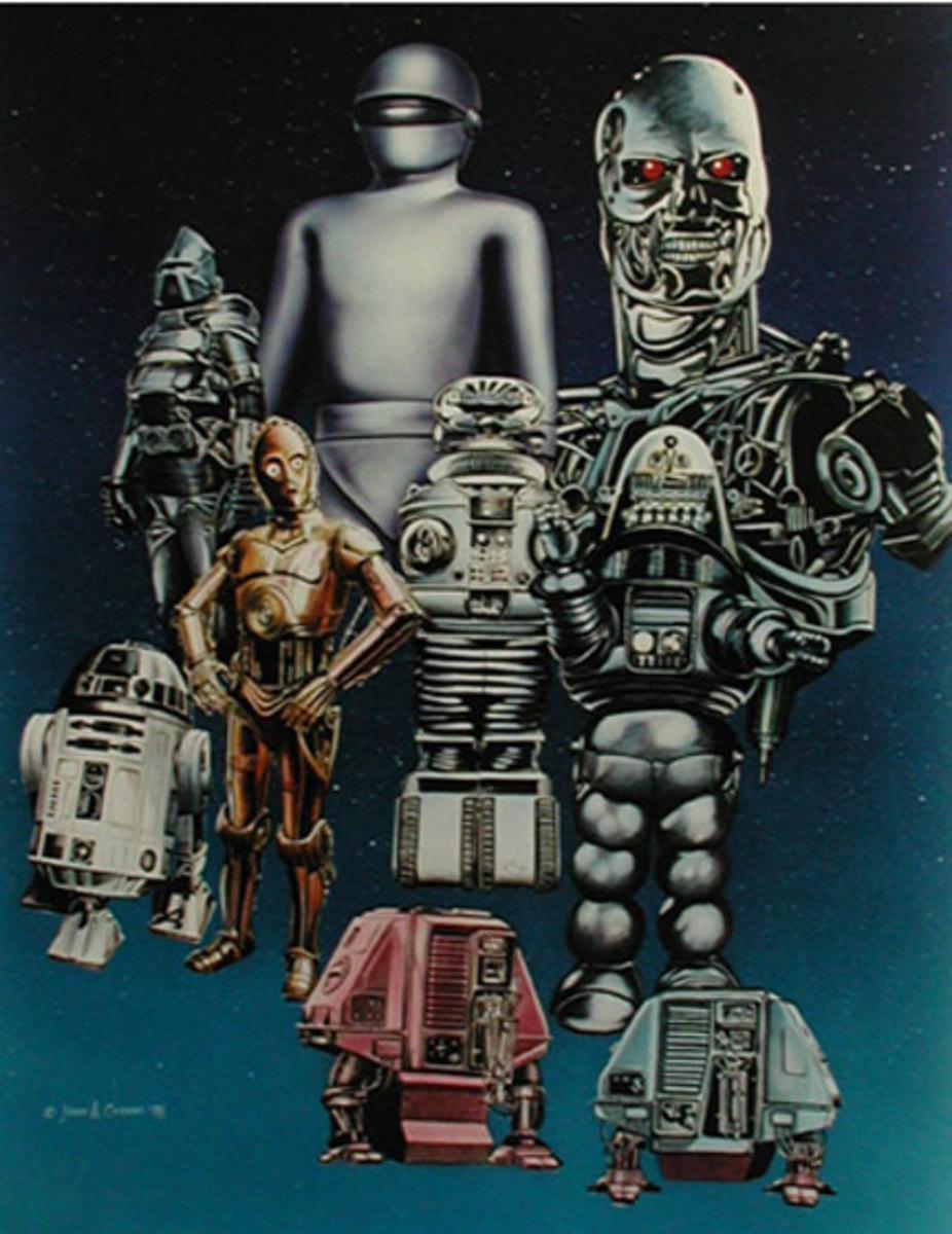 Sarcasticool's Lists: My Top 10 Fictional Robots (TV & Film)