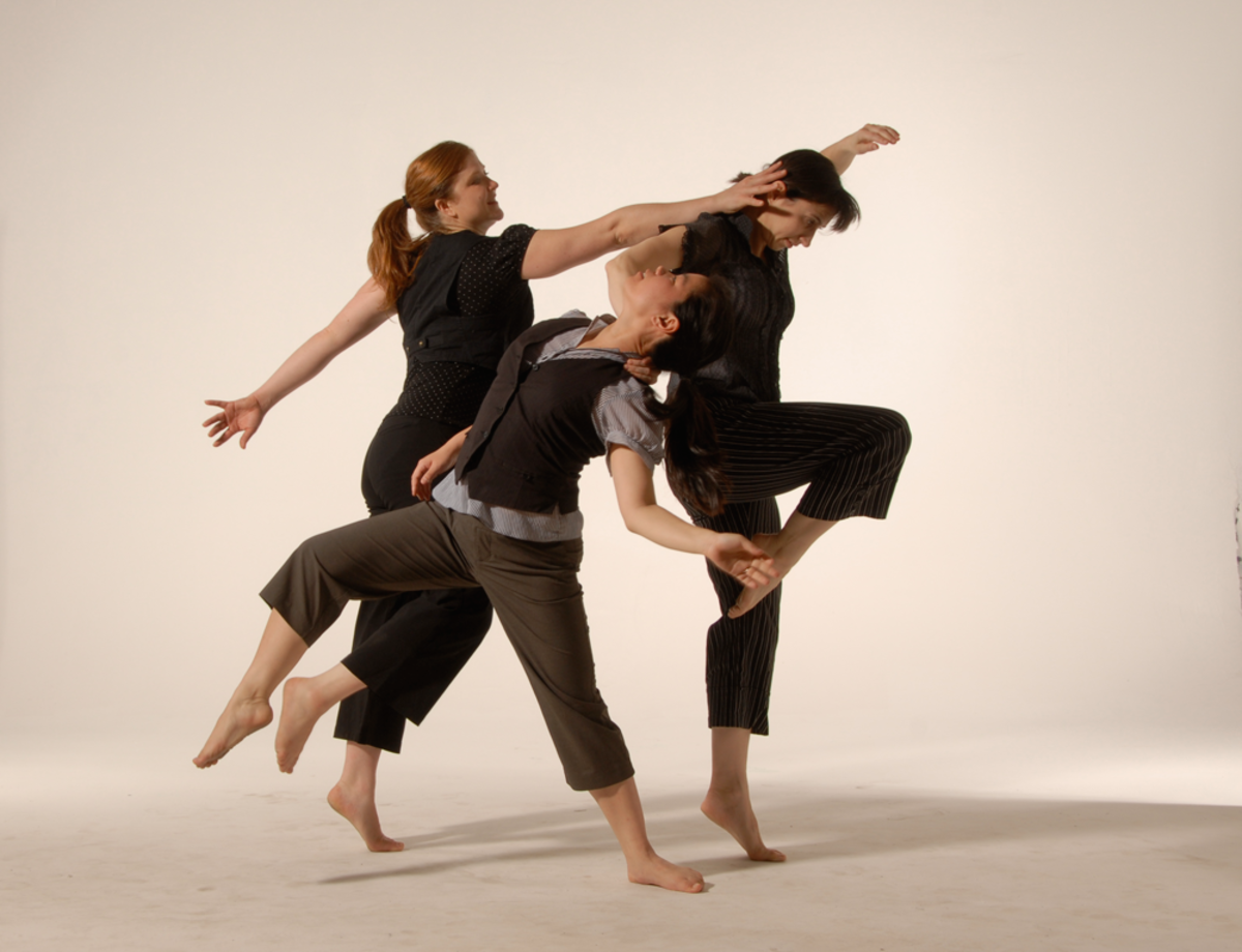 This modern-based improvisational trio of dance artists performs and teaches workshops nationally. Audiences have heralded Like You Mean Its simultaneous wit, humanity, oddity, and physical virtuosity.