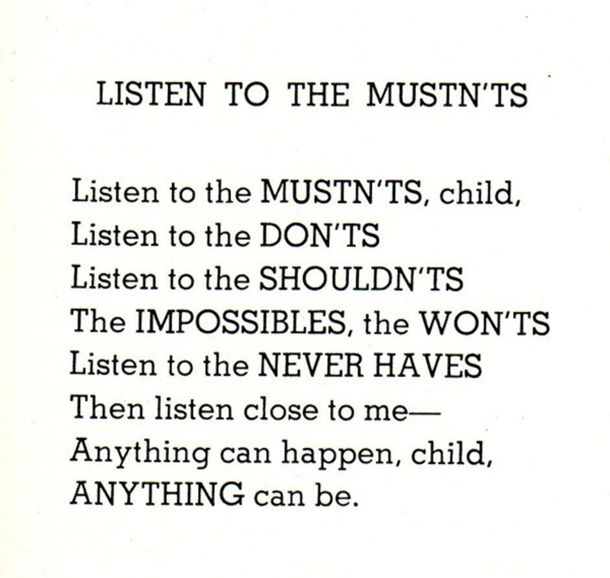 Shel Silverstein - A Profound Writer